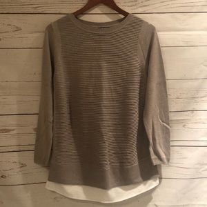 Beige Hilary Radley size medium sweater